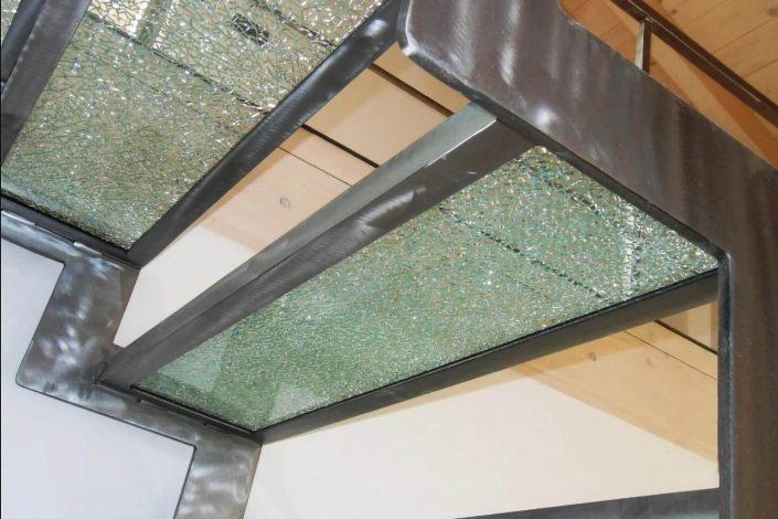 gradini scala in vetro crakue