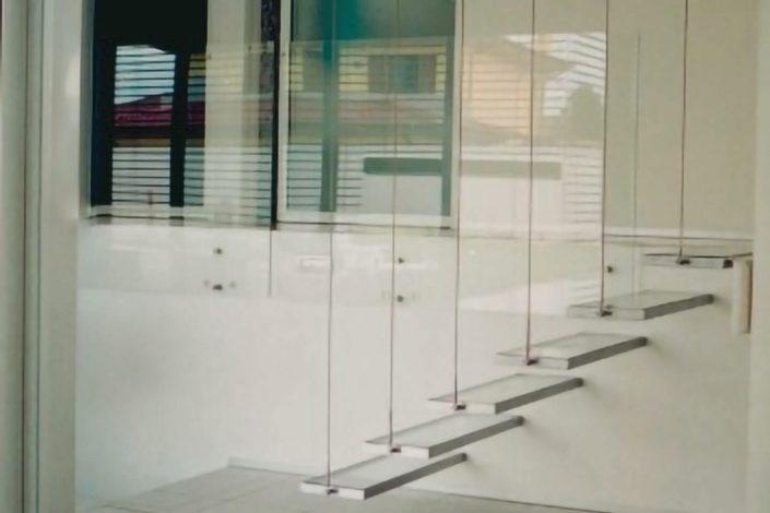 vetro calpestatile per gradini scala