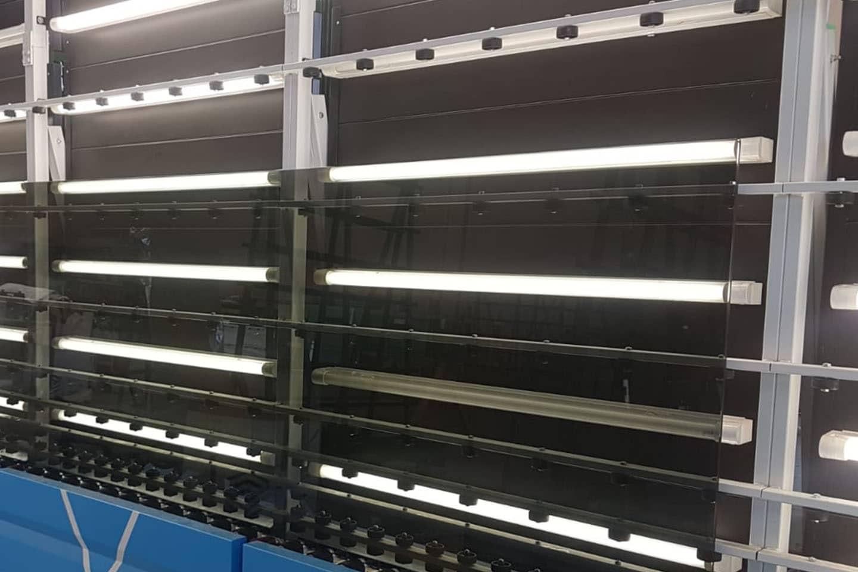 lavatrice verticale - vetreria Po.lo Glass